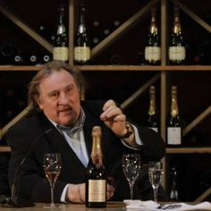 French actor and filmmaker Gerard Depardieu is no stranger to the wine business. In the mid-1990s, Depardieu teamed up with famed winemaker Alain Paret after he tasted one of Paret's white wines during a dinner. A partnership quickly formed - one that continues to this day. Depardieu also owns the Chateau Tigne vineyard in France's Loire Valley, producing a variety of Loire wines and more. That's not all. Oh no. Depardieu owns vineyards in Bourdeaux, Argentina, Spain and the U.S.