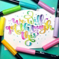 Hand Lettering Alphabet, Doodle Lettering, Creative Lettering, Calligraphy Alphabet, Graffiti Lettering, Brush Lettering, Lettering Styles, Calligraphy Fonts, Script Fonts