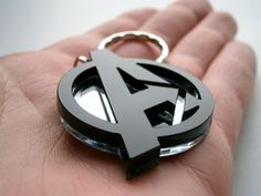 Avengers Necklace, Laser Cut Black and Mirror Avengers Logo Pendant Necklace Cnc Laser, 3d Cnc, Laser Cut Wood, Laser Cutting, Wood Laser Ideas, Laser Cutter Ideas, Laser Cutter Projects, Laser Cut Jewelry, Laser Machine