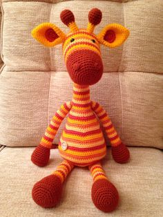 Amigurumi Giraffe Hi Ladies! Today I would like to give you information about Amigurumi type knitting. And for now our topic is amigurumi giraffe doll which is very eas. Amigurumi Giraffe, Crochet Amigurumi, Amigurumi Patterns, Crochet Dolls, Crochet Motifs, Knit Or Crochet, Crochet For Kids, Crochet Patterns, Crochet Giraffe Pattern