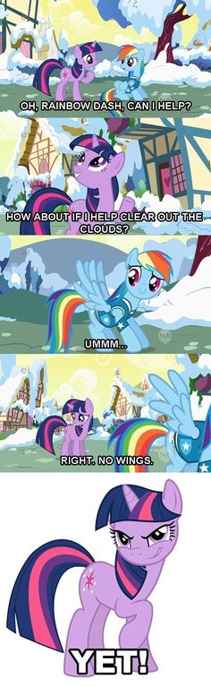 She knows about Alicorn Princess Twilight Sparkle! SHE KNOWS!!!