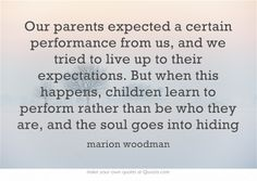 Wise words from Marion Woodman. (As Genie from Aladdin says :) ) Own Quotes, True Quotes, Words Quotes, Quotes To Live By, Sayings, Jungian Psychology, Psychology Facts, Marion Woodman, C G Jung