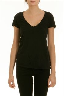 My dresser's filled with black v-neck James Perse t-shirts.