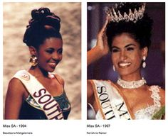 Miss South Africa Universe in the 1990s