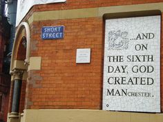 36 Great Things Manchester Gifted The World - I Love Manchester I Love Manchester, Manchester Street, Manchester United, I Love Mcr, My Love, Carpet Fitting, French Magazine