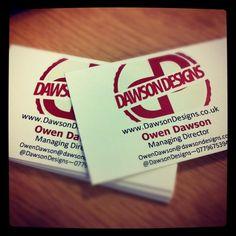 Business Cards by ~DawsonDesigns on deviantART