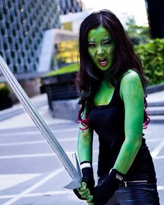 Pin for Later: Break the Internet With These Clever Costumes Gamora