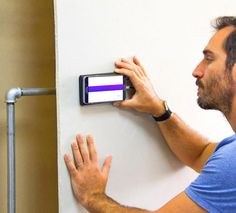Need to do some drilling into your walls but are afraid you'll hit a pipe or a wire? The Walabot is a device that connects to your Smart Phone and allows you to get x-ray vision into your walls. The d...