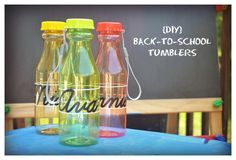 DIY Back to School Personalized Tumblers created with the Silhouette (with tutorial)
