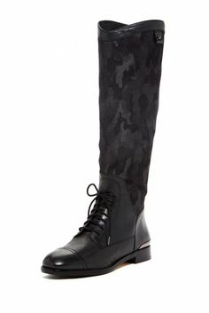 Harlynn Camo Lace-Up Boot