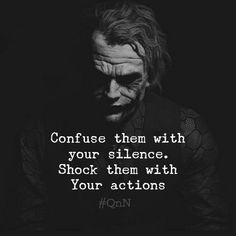 18 new relationship quotes, scroll down and check it out…. Quotes About Attitude, Wisdom Quotes, True Quotes, Motivational Quotes, Inspirational Quotes, Quotes Quotes, Best Joker Quotes, Badass Quotes, Joker Qoutes