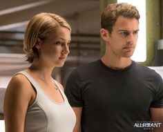 Beyond the wall, Four and Tris are ready to take action. #Allegiant