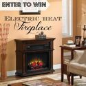 Warm up for the holidays! Win an electric fireplace in the #RockinHop  http://asmomseesit.com/twin-star-electric-fireplace/#comment-20361