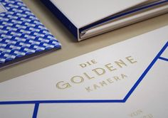 The Golden Camera 2014 by Paperlux | Inspiration Grid | Design Inspiration