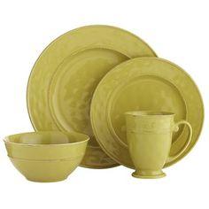 Martillo Dinnerware - Sage  glazed stoneware, perfect to mix with plum purple