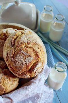 Illéskrisz Konyhája: ~ RUSZTIKUS FARMER ZSEMLE ~ Bagel, Farmer, Yummy Food, Bread, Cookies, Recipes, Crack Crackers, Delicious Food, Brot