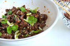 Kinesisk chilibiff er dagens rett og hvem har ikke lyst på asiatisk mat?…
