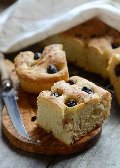 Roasted Garlic and Olive Focaccia