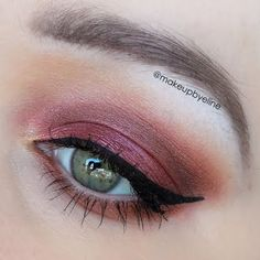 This look is a romantic combination of warm eyeshadow with a winged eye and beautiful lashes. This night out ready look is yours for your next party with the products listed here.