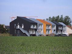 Social housing by Belgian Architects TEEMA located in Merksplas, Belgium.