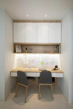 2019 Productive Office Layout Ideas (How to Decorate the Best Office for your Working Space),… – Home Office Design Layout Mesa Home Office, Home Office Table, Home Office Space, Home Office Desks, Study Table Designs, Study Room Design, Small Room Design, Kids Study Table Ideas, Small Office Design