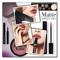 """Matte About You (contest entry)"" by shoaleh-nia ❤ liked on Polyvore featuring beauty, Laura Mercier, MAC Cosmetics, Couture Colour, Giorgio Armani, contestentry, polyvoreeditorial and polyPresents"