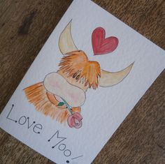 Love Moo by onelittlepug on Etsy
