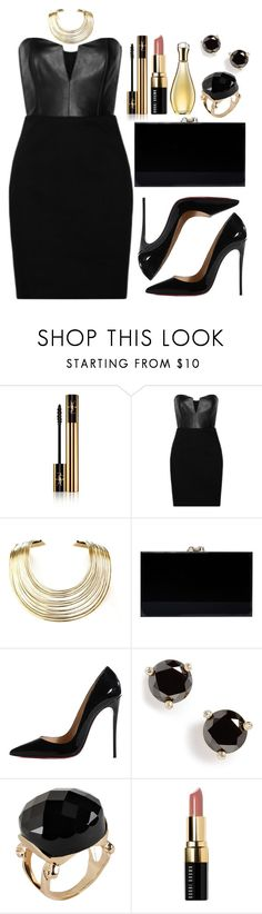 """""""Untitled #3494"""" by natalyasidunova ❤ liked on Polyvore featuring moda, Yves Saint Laurent, Mason by Michelle Mason, Bisjoux, Charlotte Olympia, Christian Louboutin, Kate Spade, ALDO, Bobbi Brown Cosmetics y Christian Dior"""