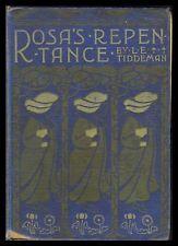 Silver Studio Arts & Crafts ROSA'S REPENTANCE Art Nouveau BLACKIE Tiddeman