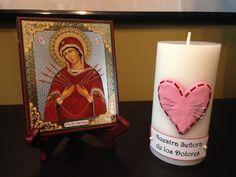 Familia Católica: Vela para Nuestra Señora de los Dolores - mes de Septiembre