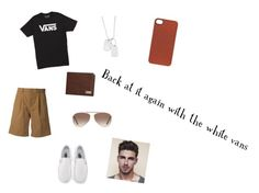 """""""Vans"""" by rachonacho ❤ liked on Polyvore featuring Vans, En Route, Salvatore Ferragamo, Tom Ford, men's fashion and menswear"""