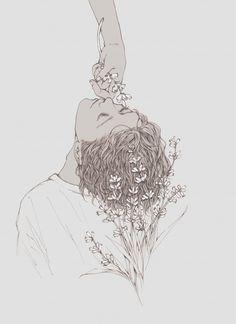 salty rose:  #draw #painting #illustration
