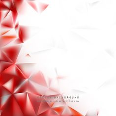 Free Download Red White Polygon Pattern Background Vector Illustration. Can be used for graphic or web designs. Free Vector Background available in Adobe Illustrator Eps & Ai {Version 10+} file formats. You are free to use these both for commercial and personal use. Free Vector from www.123FreeVectors.com Free Vector Backgrounds, Abstract Backgrounds, Vector Free, Polygon Pattern, Independence Day Greeting Cards, Web Design, Graphic Design, Pattern Background, Red And White