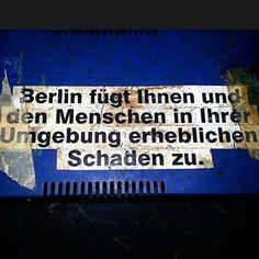 Ein Warnhinweis in Berlin:   28 Fotos, die Dir den Unterschied zwischen Berlin und Deutschland zeigen