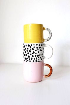 Most up-to-date Cost-Free white pottery mugs Suggestions Polka dot ceramic coffee mug, Handmade pottery tea mug, Unique coffee mug, Black and White pottery Cheap Coffee Mugs, Coffee Mugs Vintage, Painted Coffee Mugs, Unique Coffee Mugs, Funny Coffee Mugs, Coffee Cup, Pottery Mugs, Ceramic Pottery, Pottery Bowls