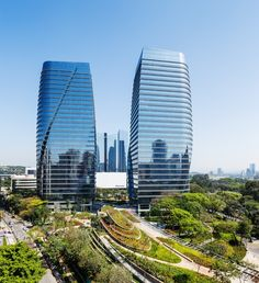 São Paulo Corporate Towers / Aflalo/Gasperini Arquitetos  Pelli Clarke Pelli Architects