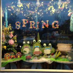 Spring 2014 window display!!