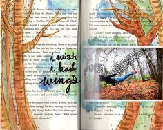 punk projects: Get Messy Thursday- Books and Words Art Journal Inspiration, Journal Ideas, Garden Inspiration, Messy Art, Diy Garden Projects, Bible Art, Life Drawing, Altered Books, Art Journals