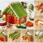Поделки здоровый вегетарианский дом
