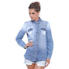 Camisa Jeans. Ref.: 565M R$ 299.