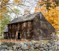 One of many New England homes featured in New England Icons, a recently released book by Bruce Irving (with photography by Greg Premru) Early American Homes, American Houses, Colonial House Exteriors, Colonial Architecture, New England Homes, New England Style, Saltbox Houses, Old Houses, Primitive Homes