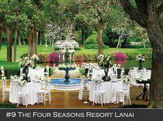 Four Seasons Resort Lanai, Hawaii  #beautifulweddingvenues #weddinginhawaii #destinationwedding