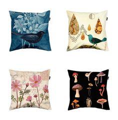 pretty pillows, Geninne's art / livecolorful.com