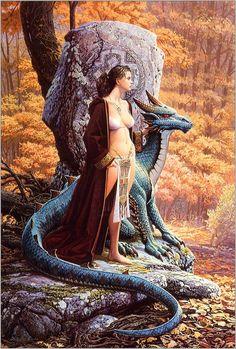 Keith Parkinson - The Druid's Stone