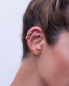 1ed8dc6ef Helix Earring Helix Piercing Cartilage Earring Tragus   Etsy #piercing  #noitadesign Unique Ear Piercings