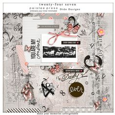 {24/7} a collab kit with Paislee Press by Dido Designs. http://www.oscraps.com/shop/product.php?productid=33156