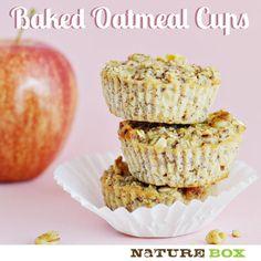 Apple Oatmeal Cups