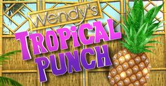 Enter Wendy's Tropical Punch Sweepstakes! NO PURCHASE NECESSARY. Ends 2/19/17. 48 contiguous U.S./DC, 18+ only. Subject to Official Rules available at facebook.com/wendyshow.