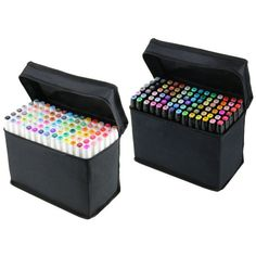 Hot Sell 80 Color Touch Five Art Sketch Twin Marker Pen Broad Fine Point  #TOUCHFIVE
