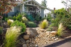 Landscaping Front Yard Low Maintenance Water Features 34 Ideas 2019 Landscaping Front Yard Low Maintenance Water Features 34 Ideas The post Landscaping Front Yard Low Maintenance Water Features 34 Ideas 2019 appeared first on Landscape Diy. Hillside Landscaping, Landscaping With Rocks, Front Yard Landscaping, Landscaping Ideas, Low Maintenance Landscaping, High Maintenance, Front Yard Design, Spring Plants, Outdoor Gardens